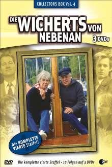 Die Wicherts von nebenan Staffel 4, 3 DVDs