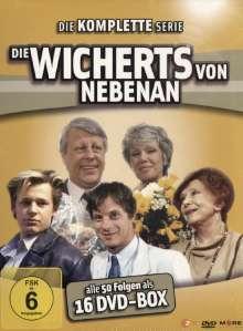 Die Wicherts von nebenan (Gesamtausgabe), 16 DVDs