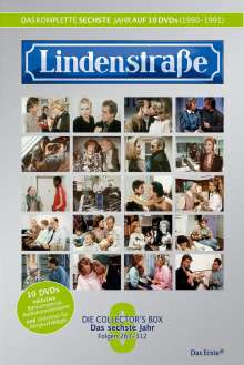 Lindenstraße Staffel 6, 10 DVDs
