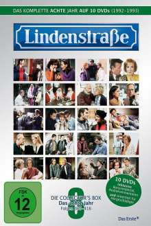 Lindenstraße Staffel 8, 10 DVDs