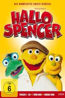 Hallo Spencer Staffel 1, 7 DVDs