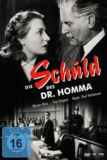 Die Schuld des Dr. Homma, DVD