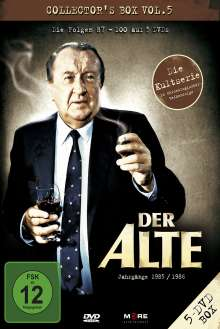 Der Alte Collectors Box 5, 5 DVDs