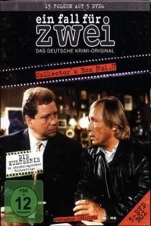 Ein Fall für Zwei Box 07, 5 DVDs