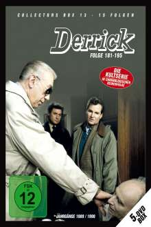 Derrick Collector's Box Vol. 13 (Folgen 181-195), 5 DVDs