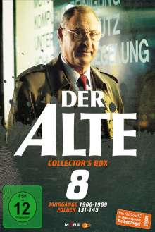 Der Alte Collectors Box 8, 5 DVDs