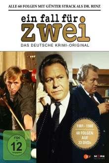 Ein Fall für Zwei - Günter Strack Box, 23 DVDs