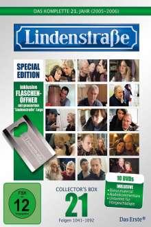Lindenstraße Staffel 21 (Limited Edition mit Flaschenöffner), 10 DVDs
