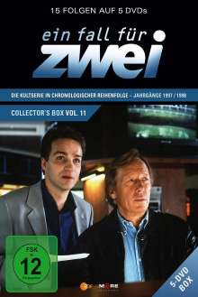 Ein Fall für Zwei Box 11 (Folge 150-164), 5 DVDs