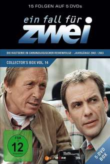 Ein Fall für Zwei Box 14 (Folge 195-209), 5 DVDs