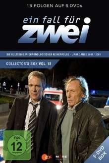 Ein Fall für Zwei Box 18 (Folge 255-269), 5 DVDs