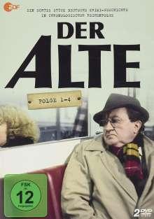 Der Alte (Folge 1-4), 2 DVDs