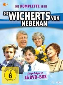 Die Wicherts von nebenan (Komplette Serie), 16 DVDs
