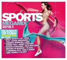 Sports Megamix 2018.1: Your Workout Favourites, 3 CDs