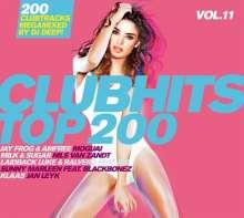 Clubhits Top 200 Vol.11, 3 CDs