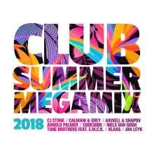 Club Summer Megamix 2018, 2 CDs