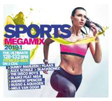 Sports Megamix 2019.1 Your Workout Favourites, 3 CDs