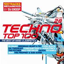 Techno Top 100 Vol. 28: The Best Of Hard- & Jumpstyle, 2 CDs