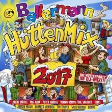 Ballermann Hütten Mix 2017, 2 CDs