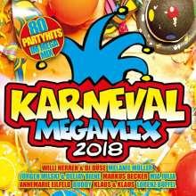 Karneval Megamix 2018, 2 CDs