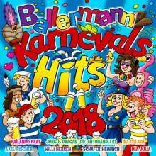 Ballermann Karnevals Hits 2018, 2 CDs