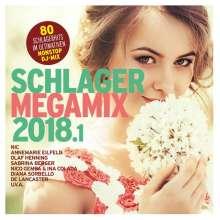 Schlager Megamix 2018.1, 2 CDs