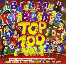 Ballermann Karnevalhits Top 100 Vol.1, 2 CDs