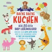 Backe Backe Kuchen (3).Meine 20 Ersten Baby Liebl, CD