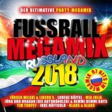 Fußball Megamix Russland 2018, 2 CDs