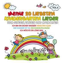 Meine 20 Liebsten Kindergarten Lieder Vol.6, CD