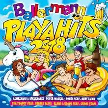 Ballermann Playa Hits 2018, 2 CDs