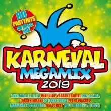 Karneval Megamix 2019, 2 CDs
