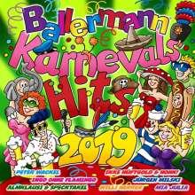 Ballermann Karnevals Hits 2019, 2 CDs