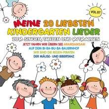Meine 20 Liebsten Kindergarten Lieder Vol.7, CD