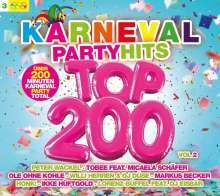 Karneval Party Hits Top 200 Vol.2, 3 CDs