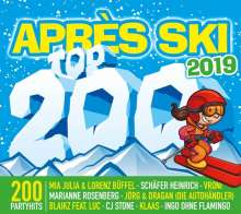 Apres Ski Top 200 2019, 3 CDs