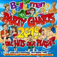 Ballermann Party Charts 2019 Die Hits Der Playa, 2 CDs