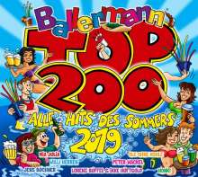 Ballermann Top 200: Alle Hits des Sommers 2019, 3 CDs