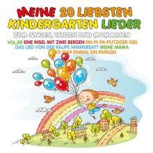 Meine 20 liebsten Kindergarten Lieder Vol. 8, CD