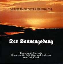 Carl Witzel (20.Jh.): Der Sonnengesang (Oratorium), CD