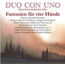 Duo Con Uno - Fantasien für vier Hände, CD