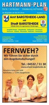 HARTMANN-PLAN Bargteheide Stadt & Amt Bargteheide-Land, 1:24.000 Stadtplan, Diverse