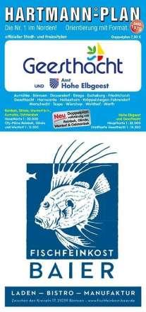 HARTMANN-PLAN Geesthacht & Amt Hohe Elbgeest, 1:22.000 Stadtplan, Diverse