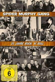 Spider Murphy Gang: 25 Jahre Rock'n'Roll, 2 DVDs