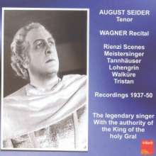 August Seider singt Wagner, CD