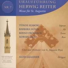Herwig Reiter (geb. 1941): Messe für St.Augustin, CD