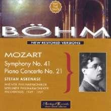 "Wolfgang Amadeus Mozart (1756-1791): Symphonie Nr.41 ""Jupiter"", CD"