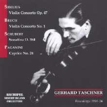 Gerhard Taschner spielt Violinkonzerte, CD