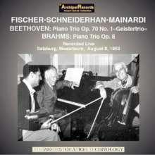 """Ludwig van Beethoven (1770-1827): Klaviertrio Nr.5 """"Geistertrio"""", CD"""