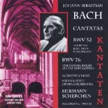 Johann Sebastian Bach (1685-1750): Kantaten BWV 32 & 76, CD